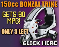 150cc Bonzai Trike For Sale