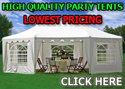Party Tent Sale - Party On