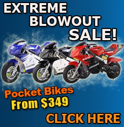 50cc Pocket Bikes