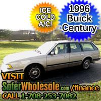 1996 Cheap Used Buick Century Wagon Vehicle - Low Price Car