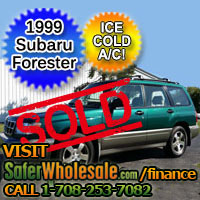 1999 Cheap Used Subaru Forester Vehicle - Low Price Car