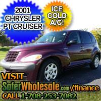 2001 Cheap Used Chrysler PT Cruiser Vehicle - Low Price Car