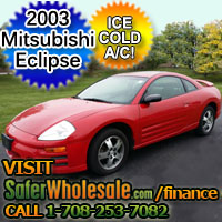 2003 Cheap Used Mitsubishi Eclipse 2dr Hatchback Vehicle - Low Price Car
