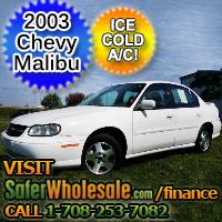 2003 Cheap Used Chevy Malibu Vehicle - Low Price Car