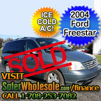 2004 Cheap Used Ford Freestar Vehicle - Low Price Car