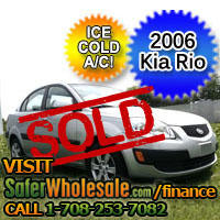2006 Cheap Used Kia Rio LX Vehicle - Low Price Car