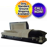 18 Gauge Black Thorn Casket