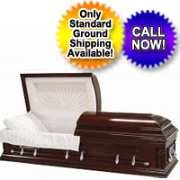 Cherry Wood Wooden Casket