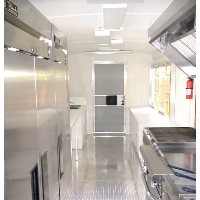 Extra wide 8' x 36' Gooseneck Concession Trailer