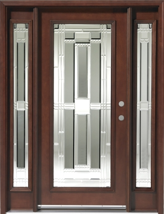 GL19 6u0027 Solid Wood Entry Door