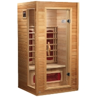 2 Person Dynamic Far Infrared Elite Sauna, Cindy Edition - DYN-9101-01