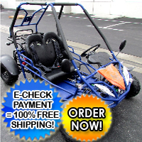 125cc Challenger Go Kart With Reverse