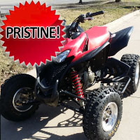 2008 Honda TRX 700xx 700cc ATV Four Wheeler Like New