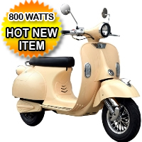 Electric Campus Cruiser 800 Watt Scooter Moped