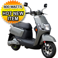 Electric Trance 800 Watt Scooter Moped
