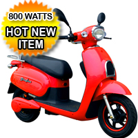 Electric Worm 800 Watt Scooter Moped