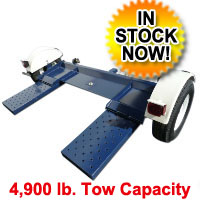 Heavy Duty Car Trailer Towing Dolly Hauler - 4,500 Capacity Tow