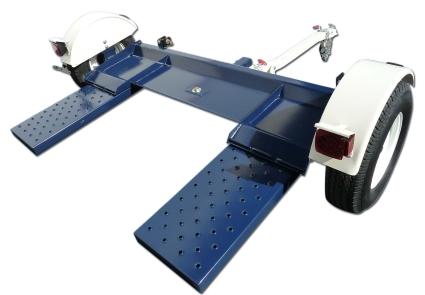 Heavy Duty Car Trailer Towing Dolly Hauler - 4,500 Capacity Tow