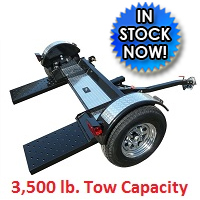 High Quality Car Trailer Towing Dolly Hauler - 3,500 Capacity