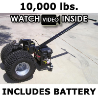 Heavy Duty Powered Motorized Trailer Dolly - 10,000lb Capacity