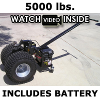 High Quality Heavy Duty Powered Motorized Trailer Dolly - 5000lb Capacity