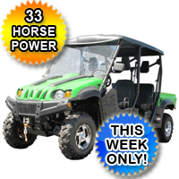 700cc Mantis UTV Utility Vehicle 4x4