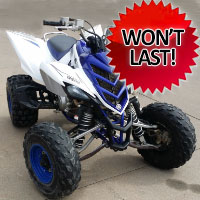 2008 Yamaha Raptor 700r - 700cc Four Wheel Quad Atv - Great Shape Like New