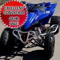 2005 Yamaha YFZ 450cc Four Wheel Quad Atv - Great Shape