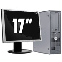 "Dell Desktop Computer P4 3.0GHz 2GB RAM 80GB HD + 17"" LCD Monitor"