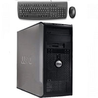 Dell Desktop Computer Pentium D 3.0 GHz 2.0 GB RAM 80 GB HD + Keyboard & Mouse