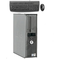 Dell Desktop Computer 2.8 GHz 2.0 GB RAM 80.0 GB HD + Keyboard & Mouse