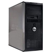 Dell Desktop Computer Tower 2GHz, 4GB RAM, 160GB HD