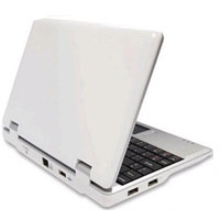 "Open Box 300MHZ White 7"" Mini Netbook Laptop Notebook With WIFI"
