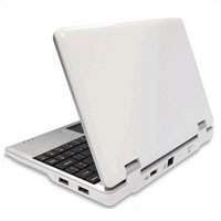 "Brand New 300MHZ White 7"" Mini Netbook Laptop Notebook With WIFI"
