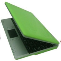 "Open Box 300MHZ Green 7"" Mini Netbook Laptop Notebook With WIFI"