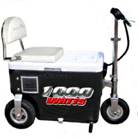 Cruzin Cooler 1000 Watt Electric Scooter Cooler