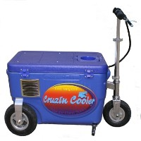Cruzin Cooler 2000 Watt Electric Scooter Cooler