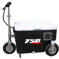 Cruzin Cooler 750 Watt Electric Scooter Cooler