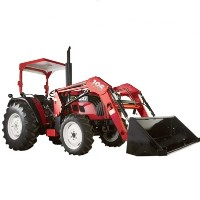 Brand New 50 HP 4WD Tractor w/ Front-End Loader & Agricultural Tires