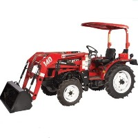 Brand New 25 HP 4WD Tractor w/ Front End Loader & Agricultural Tires