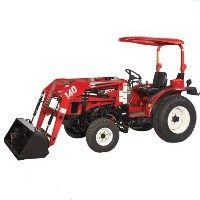 Brand New 25 HP 4WD Tractor w/ Front End Loader & Turf Tires