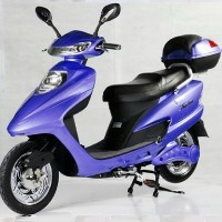 Blue 500 Watt Electric Scooter