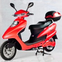 Red 500 Watt Electric Scooter