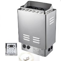 6KW Stainless Steel WET&DRY Sauna Heater Stove w/Controller