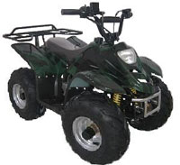 "Kids Sport Utility ATV Four Wheeler  W/16"" Inch Tires"