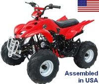 125cc Elite Series Fully Assembled Automatic ATV
