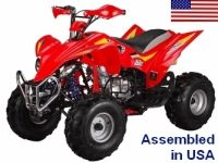 250cc Fully Assembled Manual Elite Series ATV