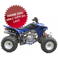 Brand New 300cc Thor ATV (2007 MODEL OVERSTOCK ATV, NEW IN CRATE!)