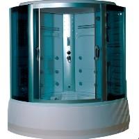 "59"" Shower Enclosure w/ Radio, Tub & Foot Massage"
