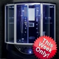 Zen Brand New Jetted Hot Tub Computerized Massage Shower Spa